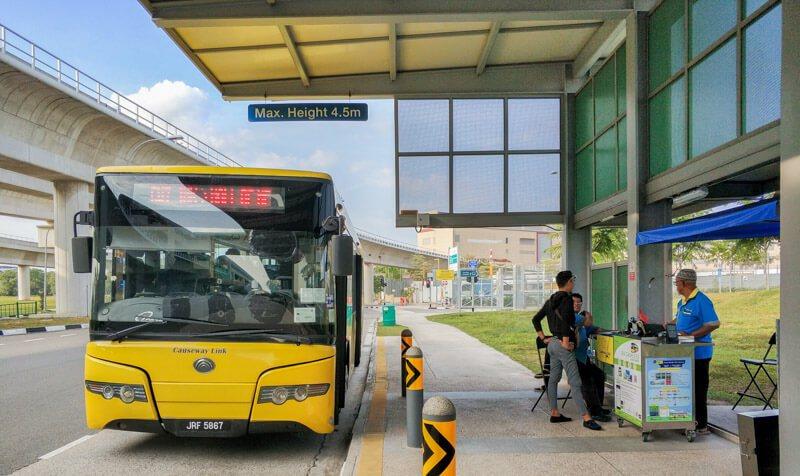 Johor to Singapore