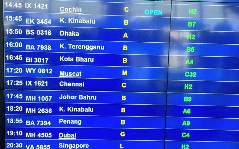 KL Chennai Flight