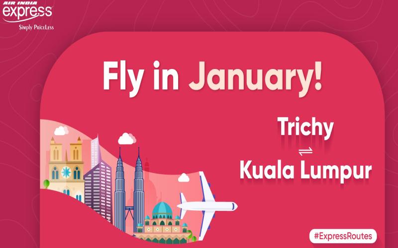 Trichy to KL Flights