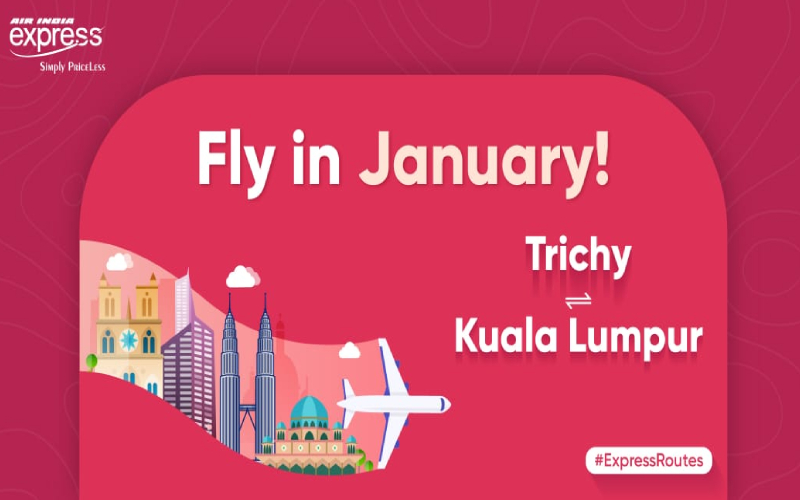 Special Flights to Trichy