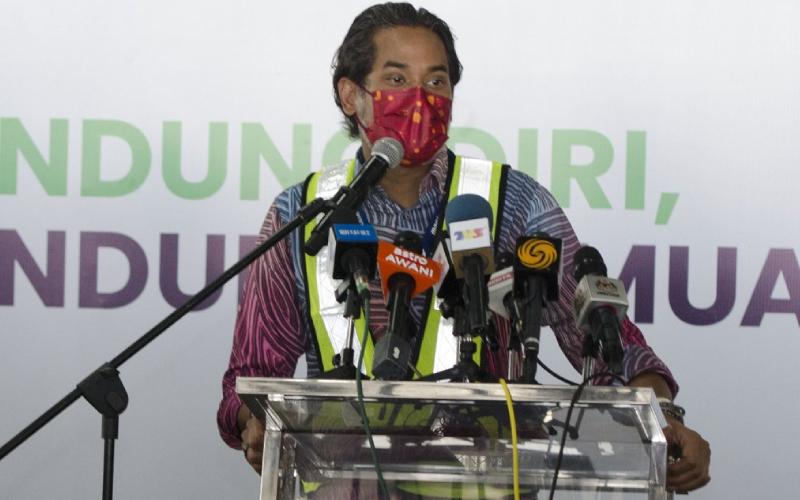 Minister Khairy Jamaluddin